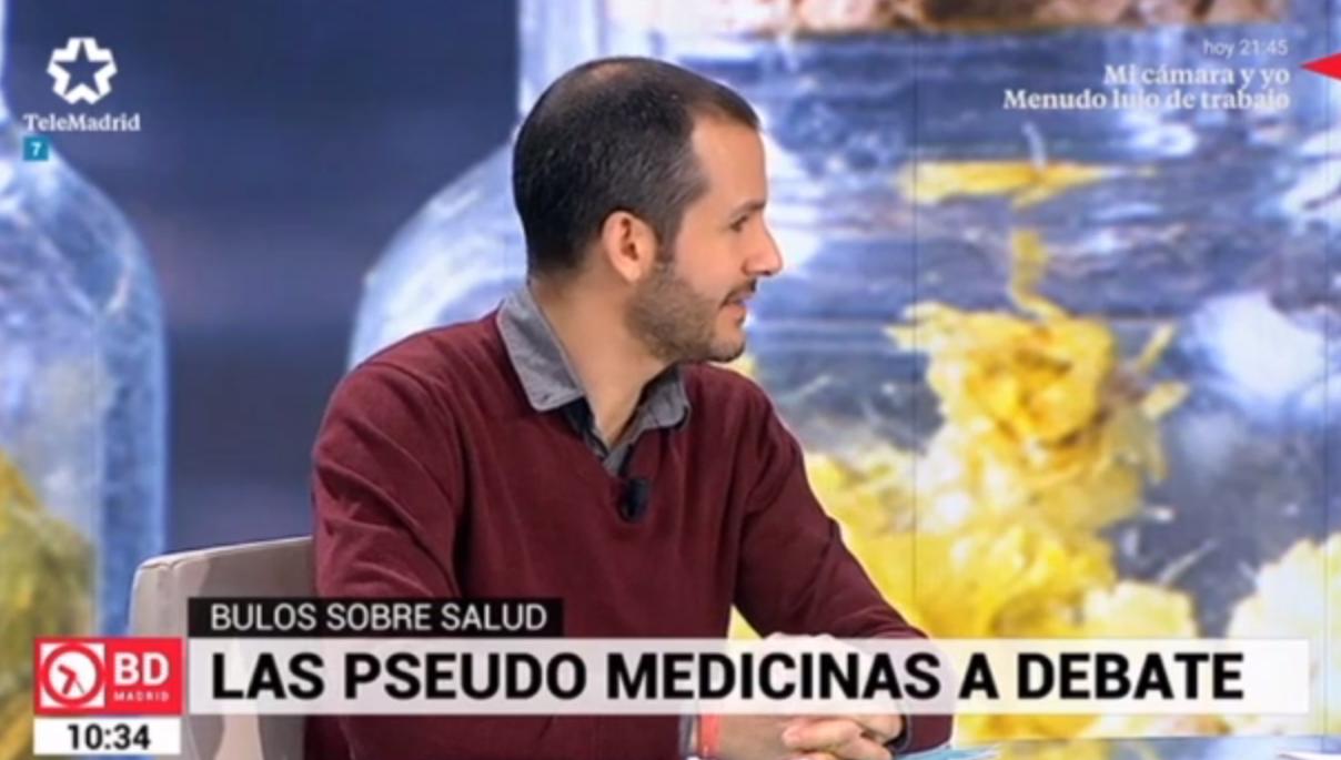 #FFPaciente en TeleMadrid – Bulos sobre Salud.