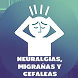 Icono Migrañas, Neuralgias y Cefaleas