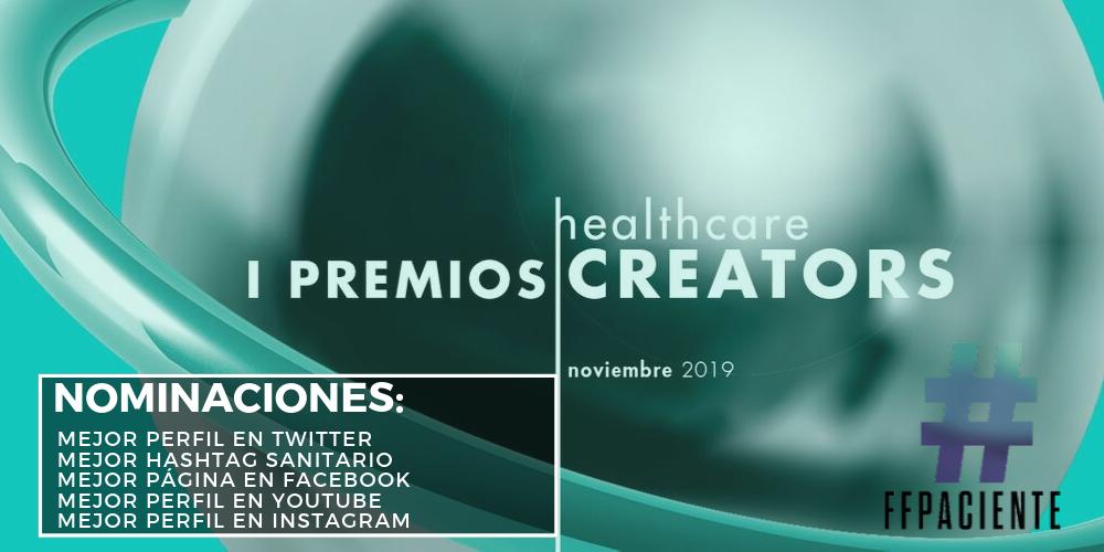 PACIENTES EN LOS I PREMIOS HEALTHCARE CREATORS.