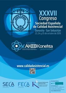 Pacientes en el XXXVII Congreso de la Sociedad Española de Calidad Asistencial.