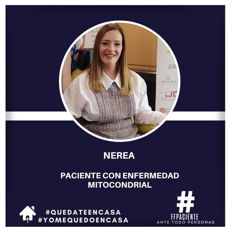 Imagen de Nerea paciente que vive con una enfermedad rara