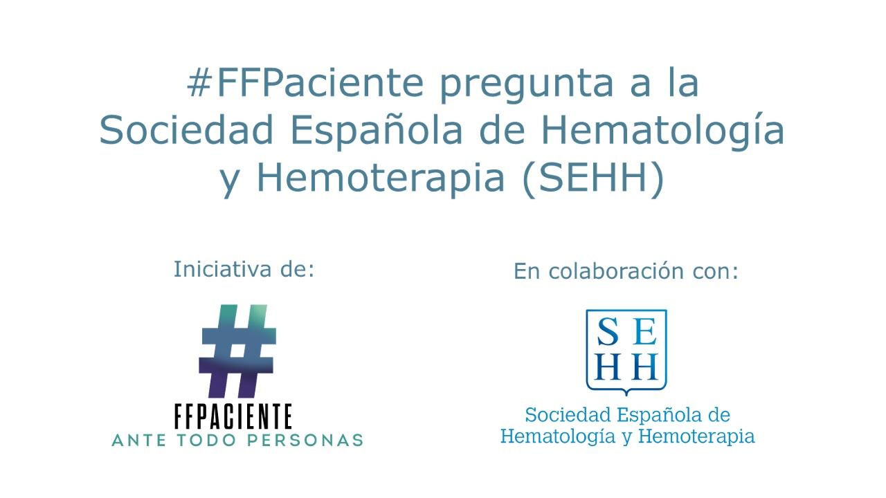Cartel reunión con la Sociedad española de Hematología y Hemoterapia