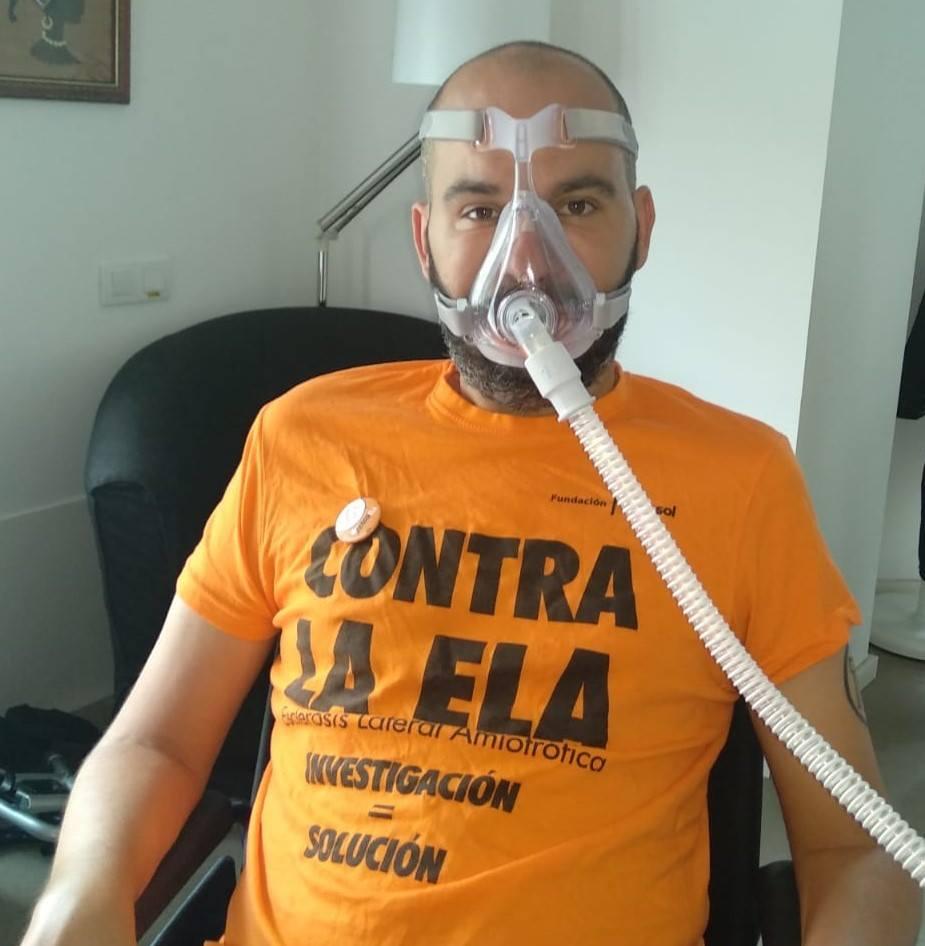 Jordi Sabaté paciente con ELA entrevista #FFPaciente