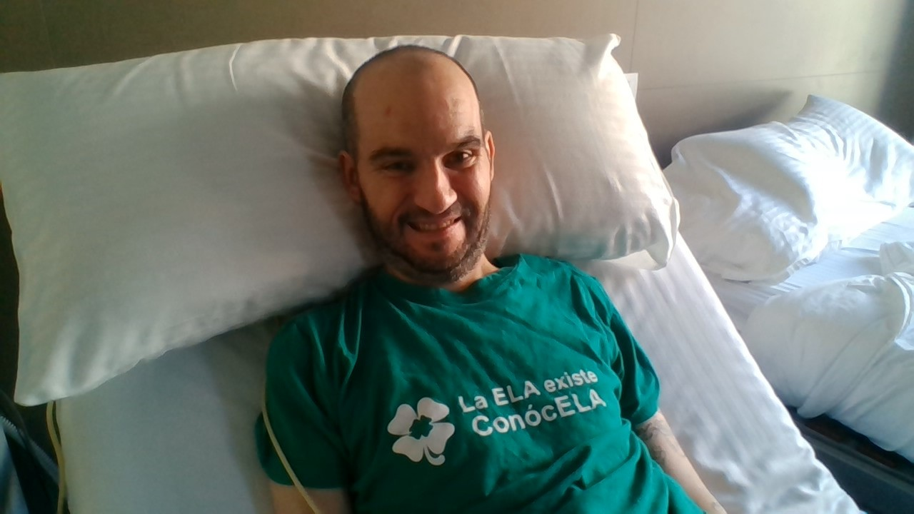 En la Piel de Jordi Sabaté, paciente con ELA