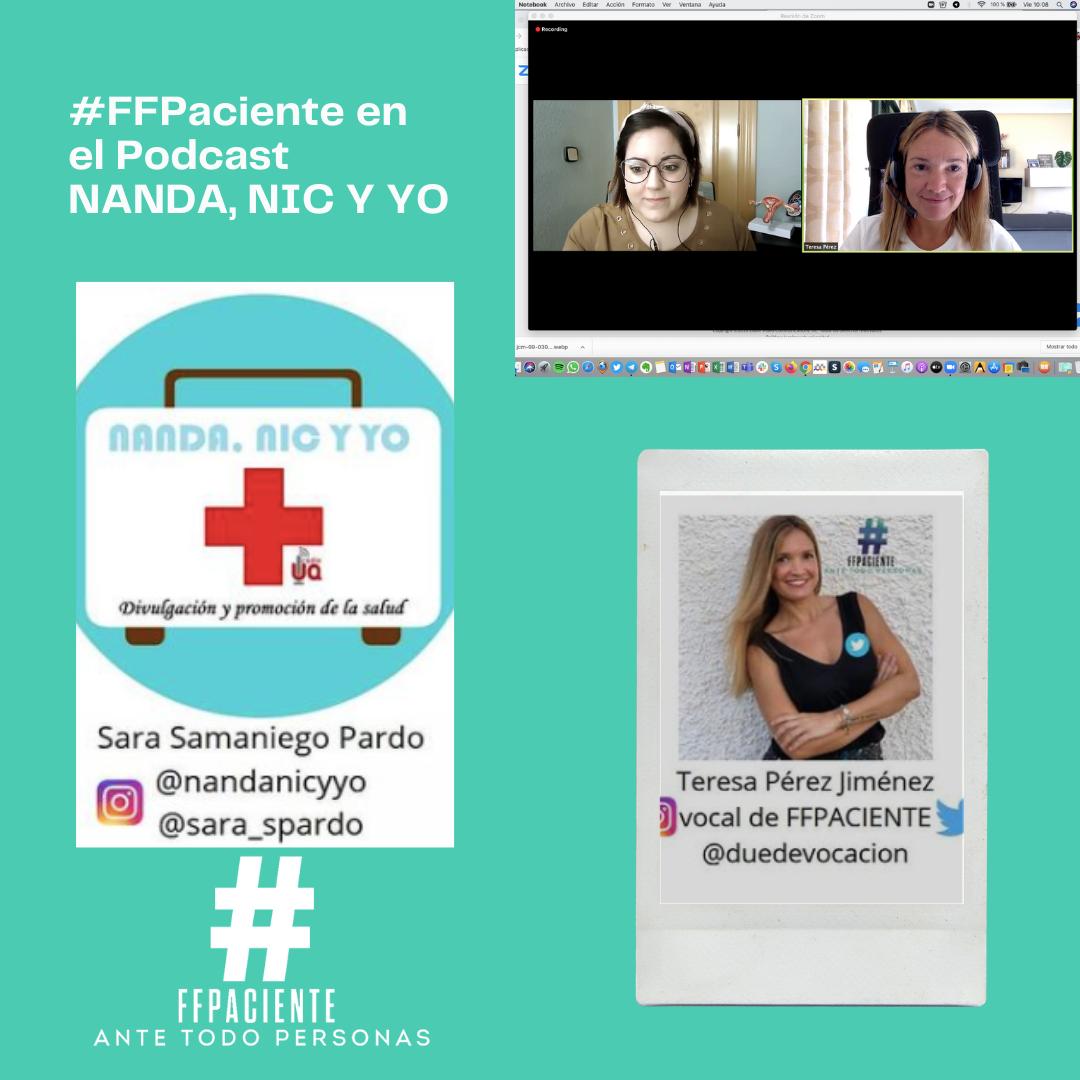 La Asociación #FFPaciente participa en el Podcast NANDA, NIC y YO